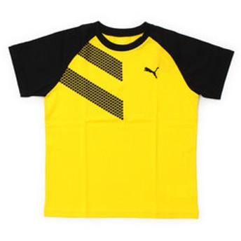 【Super Sports XEBIO & mall店:トップス】ショートスリーブTシャツ 591891 83 YEL-
