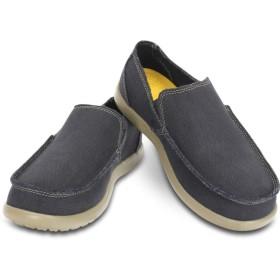 【クロックス公式】 メンズ サンタクルーズ スリップオン Men's Santa Cruz Slip-On メンズ、紳士、男性用 ブラック/黒 25cm,26cm,27cm,28cm,29cm loafer ローファー 靴 30%OFF