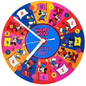 【Mickey 90th Anniversary Magic of Color:雑貨】壁掛時計ミッキー&F/GB03