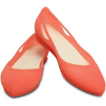 【クロックス公式】 クロックス リオ フラット ウィメン Women's Crocs Rio Flat ウィメンズ、レディース、女性用 ピンク/ピンク 21cm,22cm,23cm,24cm,25cm,26cm flat フラットシューズ バレエシューズ ぺたんこシューズ