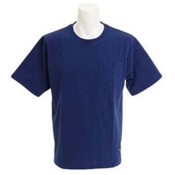 【Super Sports XEBIO & mall店:トップス】クルーネック半袖ポケットTシャツ CH24M031 NVY