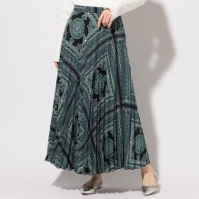 シップス(レディース)(SHIPS for women)/ペイズリープリーツスカート