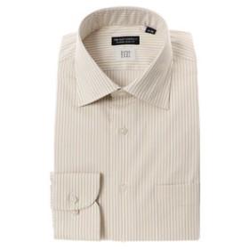 【THE SUIT COMPANY:トップス】【SUPER EASY CARE】ワイドカラードレスシャツ〔EC・CLASSIC SLIM-FIT〕