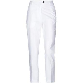《セール開催中》JUCCA レディース パンツ ホワイト 38 コットン 100%