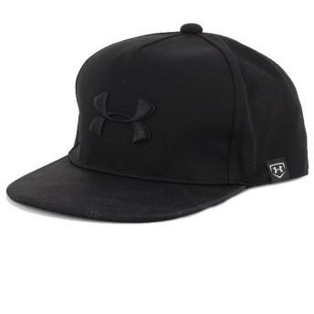 アンダーアーマー UNDER ARMOUR メンズ 野球 キャップ UA Baseball Flatbrim Cap 1331525 (ブラック)