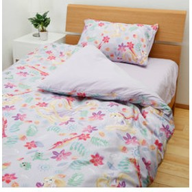 【NISHIKAWA ストア:ベッド・寝具】ラプンツェル布団カバー3点セットベッドタイプ