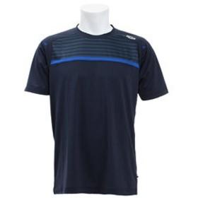 SALE開催中【Super Sports XEBIO & mall店:スポーツ】ドライプラス CAゲームシャツボーダー PT19SM403 NVY
