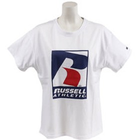 SALE開催中【Super Sports XEBIO & mall店:トップス】【オンライン特価】 NUBLEND ロゴ半袖Tシャツ RBL19S1002 WHT