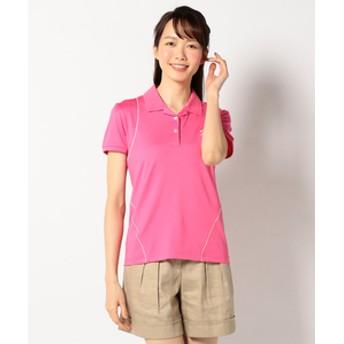【23区 GOLF:トップス】PEベア天竺 ポロシャツ
