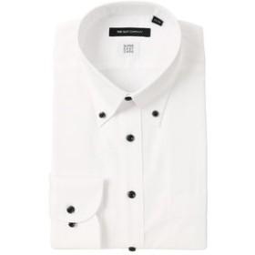 【THE SUIT COMPANY:トップス】【SUPER EASY CARE】ボタンダウンカラードレスシャツ ヘリンボーン 〔EC・BASIC〕