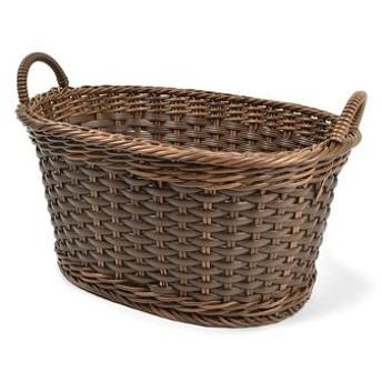 アンティークのようなたたずまい タフに使える手編みバスケットの会 フェリシモ FELISSIMO【送料:450円+税】