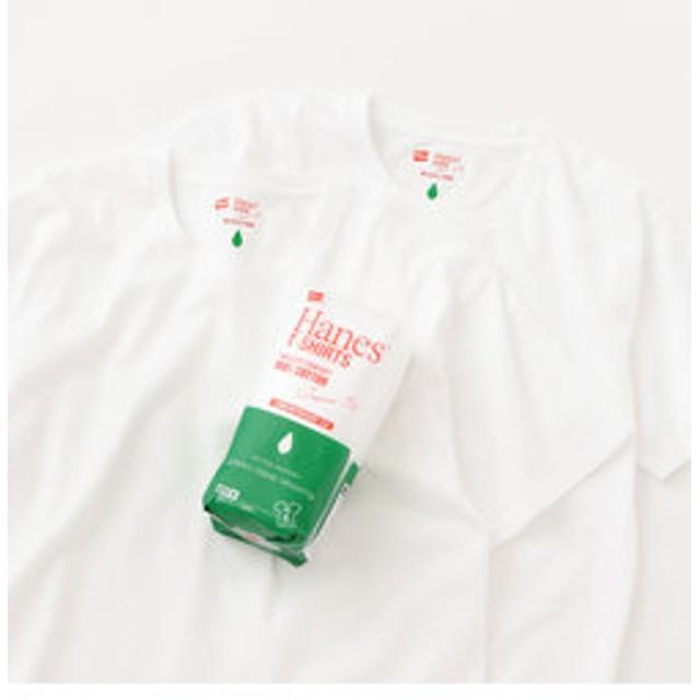 【green label relaxing:トップス】別注 [ヘインズ]SC Hanes JAPAN FIT / パックT / Tシャツ <2枚組み>