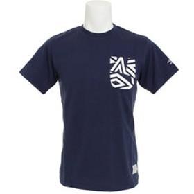【Super Sports XEBIO & mall店:トップス】コットン ショートスリーブシャツ ULULJA55XB NVY