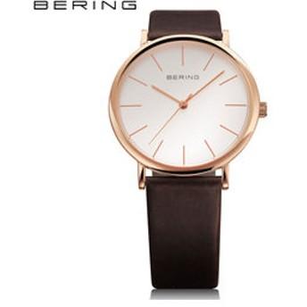 【THE WATCH SHOP.:時計】ベーリング[BERING] クラシック カーフレザー [Classic Calf Leather] 13436-564 北欧 メンズ ペアウォッチ