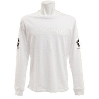 【Super Sports XEBIO & mall店:トップス】STAR 長袖Tシャツ 177205 WHT