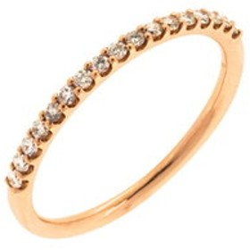 【Milluflora:アクセサリー】K10 ピンクゴールド ダイヤモンド リング
