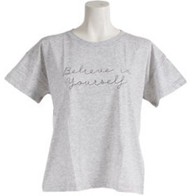 【Super Sports XEBIO & mall店:トップス】ロゴプリントTシャツ BE 872Q8CD2053MGRY