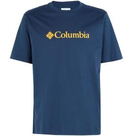 《期間限定セール開催中!》COLUMBIA メンズ T シャツ ダークブルー S コットン 100% CSC Basic Logo Tee