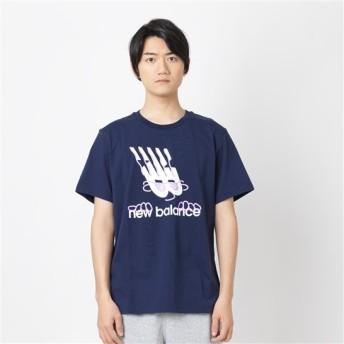 (NB公式) 【30%OFF】 ≪ログイン購入で最大8%ポイント還元≫ 【SALE】エッセンシャルエレメントTシャツ (PGM ピグメント) 男性/メンズ/mens ニューバランス newbalance セール