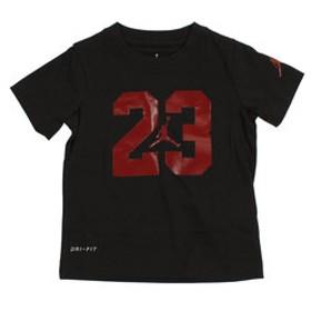 【Super Sports XEBIO & mall店:トップス】ジョーダンTシャツドライフィット ボーイズ T-18064 754694-KR5