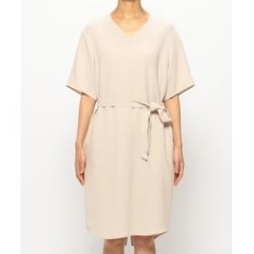 【BEIGE,:ワンピース】V-NECK DRESS [SHELBY] ワンピース / ドレス