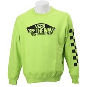 【SALE開催中】【ABC-MART:トップス】VA18FW-MC15 SK8OTW Crew Sweat LIME 585305-0005