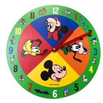 【Mickey 90th Anniversary Magic of Color:雑貨】壁掛時計ミッキー&F/GB01
