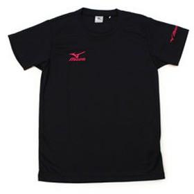 【Super Sports XEBIO & mall店:トップス】半袖プラクティスシャツ BLK PNK V2MA640297 JR