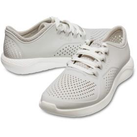 【クロックス公式】 ライトライド ペイサー メン Men's LiteRide Pacer メンズ、紳士、男性用 ホワイト/白 28cm shoe 靴 シューズ