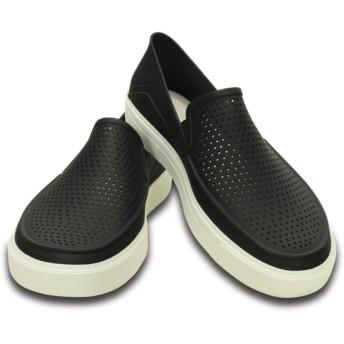 【クロックス公式】 シティレーン ロカ スリップオン CitiLane Roka Slip-ons メンズ、紳士、男性用 ブラック/黒 27cm,28cm shoe 靴 シューズ