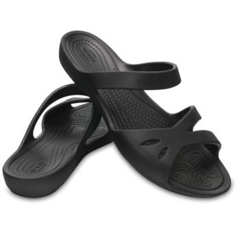 【クロックス公式】 クロックス ケリー サンダル ウィメン Women's Crocs Kelli Sandal ウィメンズ、レディース、女性用 ブラック/黒 21cm,22cm,23cm,24cm,25cm sandal サンダル 50%OFF