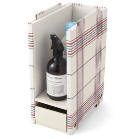 洗面所の小さなスペースにもすっぽり 重ねて収納増量ラックの会 フェリシモ FELISSIMO【送料:450円+税】