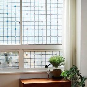太陽光できらりと輝く ステンドグラス断熱シート〈レトロ〉の会 フェリシモ FELISSIMO【送料:450円+税】