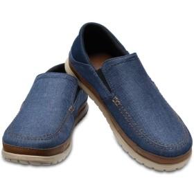 【クロックス公式】 サンタクルーズ プラヤ スリップオン メン Men's Santa Cruz Playa Slip-On メンズ、紳士、男性用 ブルー/青 25cm,26cm,27cm,28cm,29cm loafer ローファー 靴 30%OFF