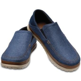 【クロックス公式】 サンタクルーズ プラヤ スリップオン メン Men's Santa Cruz Playa Slip-On メンズ、紳士、男性用 ブルー/青 25cm,26cm,27cm,28cm,29cm loafer ローファー 靴 20%OFF