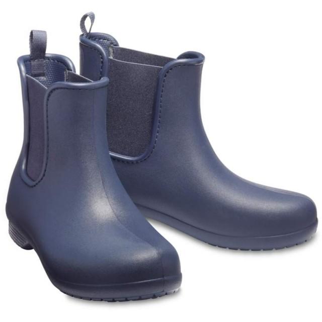 【クロックス公式】 クロックス フリーセイル チェルシー ブーツ ウィメン Women's Crocs Freesail Chelsea Boot ウィメンズ、レディース、女性用 ブルー/青 21cm,22cm,23cm,24cm,25cm boot ブーツ