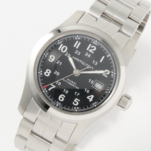 ハミルトン HAMILTON 腕時計 メンズウォッチ 【Khaki Field】 H70515137 ブラック 【wcm】