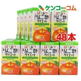 タマノイ はちみつりんご酢ダイエットLL ケース ( 125mL24本入2コセット )/ はちみつ黒酢