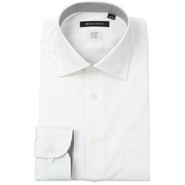 【THE SUIT COMPANY:トップス】【SUPER EASY CARE】ワイドカラードレスシャツ シャドーストライプ〔EC・BASIC〕