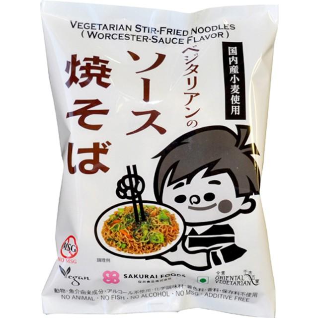 桜井食品 ベジタリアンのソース焼そば (118g)