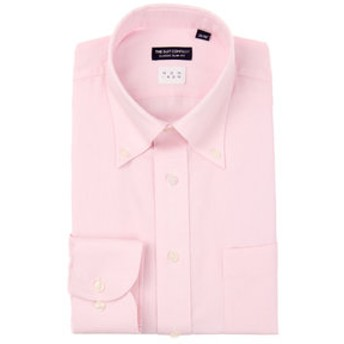 【THE SUIT COMPANY:トップス】【NON IRON】ボタンダウンカラードレスシャツ 〔EC・CLASSIC SLIM-FIT〕