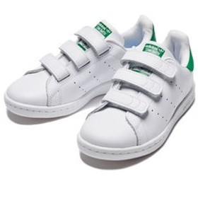 【ABC-MART:シューズ】M20607(17-21) STAN SMITH CF C WTH/WTH/GREEN 554183-0001