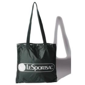【LeSportsac:バッグ】【WEB限定】LOGO TOTE/ディープフォレストC