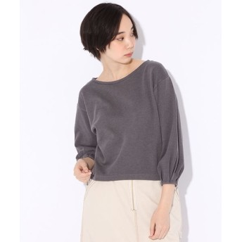 (niko and./ニコアンド)TCN空紡糸袖タックプルオーバー/ [.st](ドットエスティ)公式
