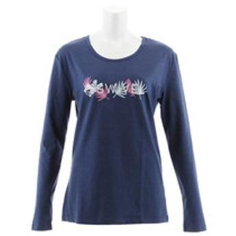 【Super Sports XEBIO & mall店:トップス】LEAF INSPIRED 長袖Tシャツ 870SW8CD3395 NVY