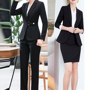 275913510cf20 スーツ レディース スカートスーツ パンツスーツ ブラックフォーマル 2色 イエロー 就職活動 オフィス セットアップ 全店2点送料無料 通販  LINEポイント最大1.0%GET ...