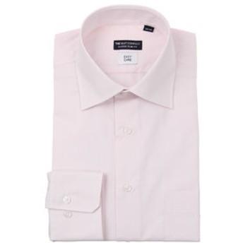 【THE SUIT COMPANY:トップス】ワイドカラードレスシャツ シャドーストライプ 〔EC・CLASSIC SLIM-FIT〕