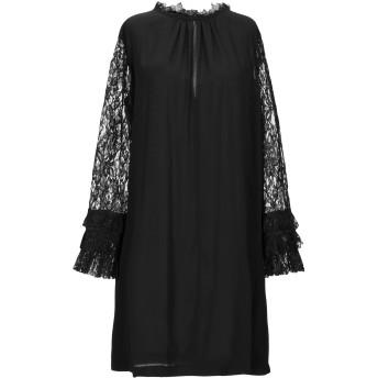 《セール開催中》MARIUCCIA レディース ミニワンピース&ドレス ブラック S ポリエステル 100%