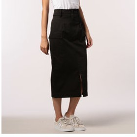 【FREDY & GLOSTER:スカート】ハイウエストチノスカート