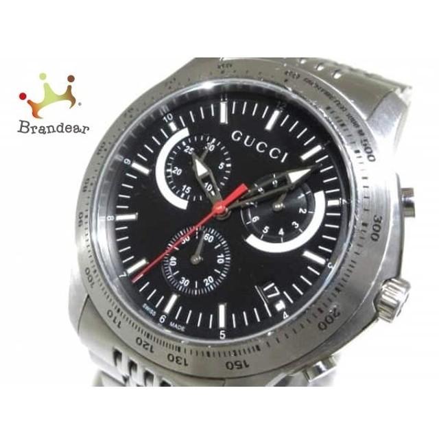 21f9621a117e グッチ GUCCI 腕時計 Gタイムレスクロノ 126.2 メンズ ダークネイビー 値下げ 20190308